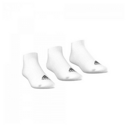 Adidas Unisex Training Performance No-Show Thin Socks 3 Pairs