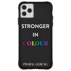 Case-Mate iPhone 11 Pro Max Prabal Gurung Tough Stronger in Colour - Smoke