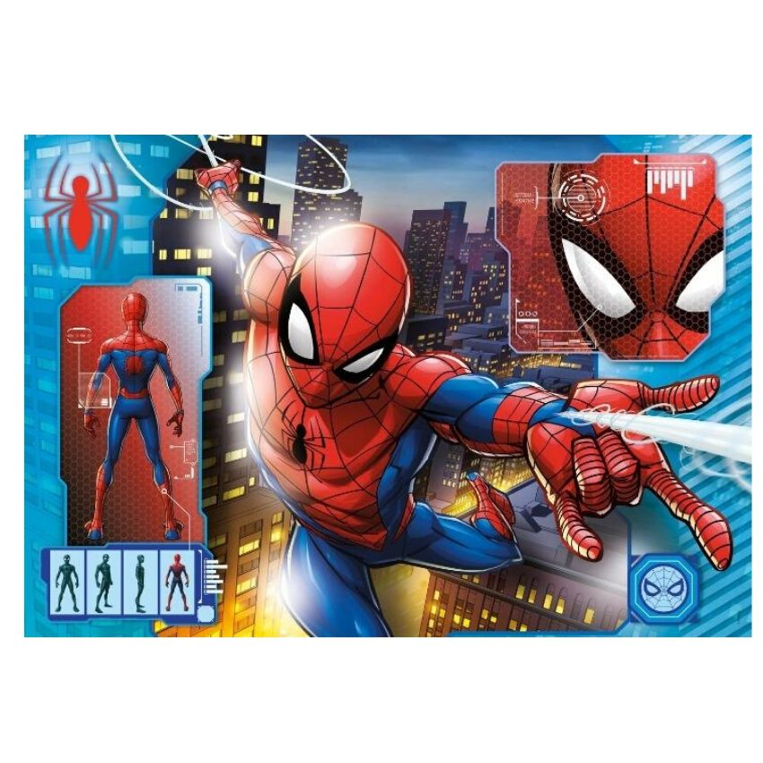 Clementoni - Spiderman Puzzle 104 pcs