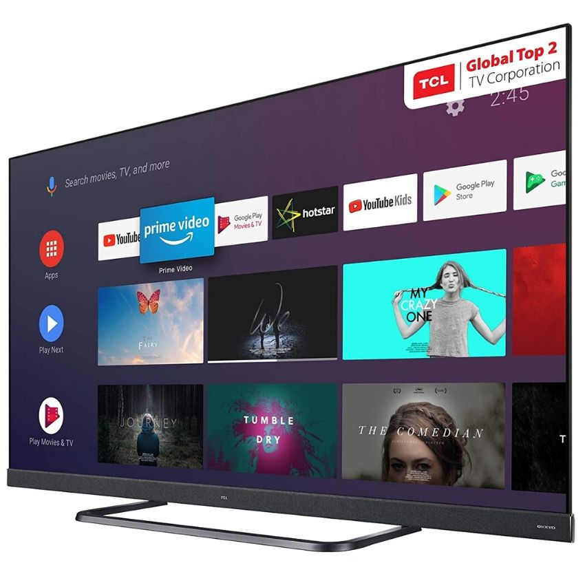 TCL C8 Series 4K Ultra HD QLED Smart Android TV