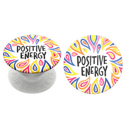 PopSockets Phone Grip Swappable Positive Energy