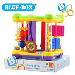Blue Box Busy Baby Toddler Activity Centre Puzzle