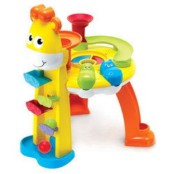 Blue Box Giraffe's Musical Fun Station