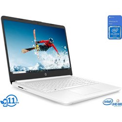 "HP Laptop 14"" HD Display Intel Celeron N4020 Up to 2.8GHz"