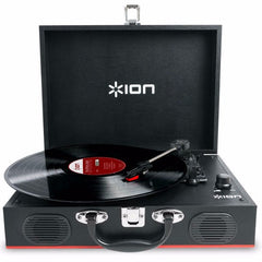 ION Vinyl Transport Turntable Black - GadgitechStore.com Lebanon - 1