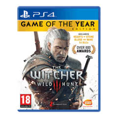 The Witcher 3 Gold Edition (PS4 Game)