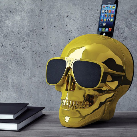 Jarre Aeroskull HD Chrome Designer Speaker