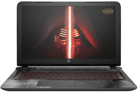 HP Pavilion  i7 2.5GHz 15-ae002ne Star Wars™ Special Edition Notebook - GadgitechStore.com Lebanon