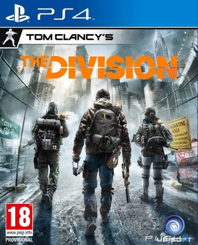 Tom Clancy's The Division (PS4 Game) - GadgitechStore.com Lebanon