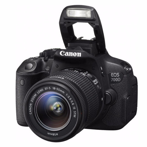 Canon EOS 700D DSLR Camera with 18-55mm Lens