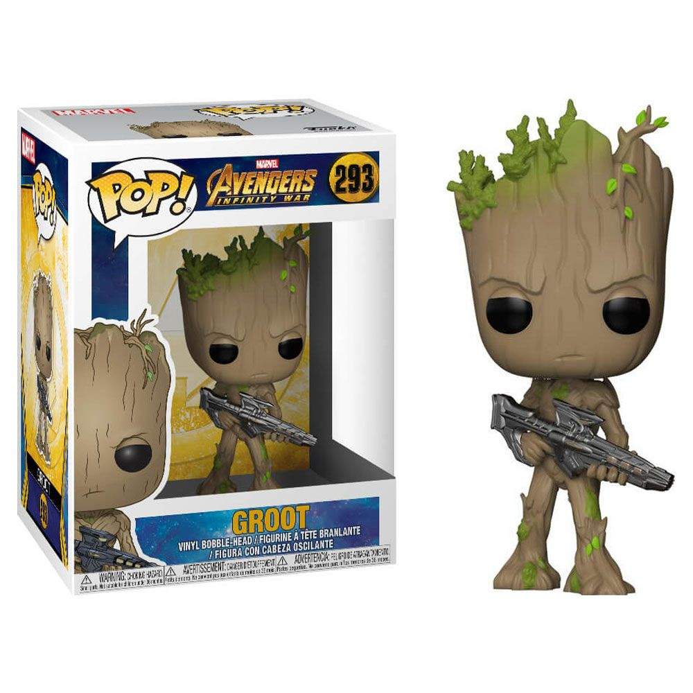 FUNKO Pop! Marvel:Avengers Infinity War -Groot