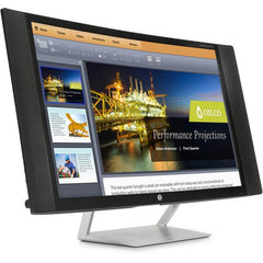 "HP EliteDisplay Curved Multimedia Monitor (27"") 4 Speakers"