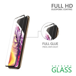 AMAZINGthing iPhone XS MAX 0.3M 2.5D SUPREME GLASS (CRYSTAL)
