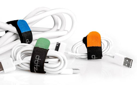 Dotz Reusable Hook & Loop Cord Straps - 6 Pieces - GadgitechStore.com Lebanon - 2