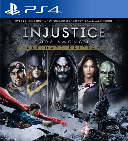 Injustice: Gods Among Us (PS4 Game)
