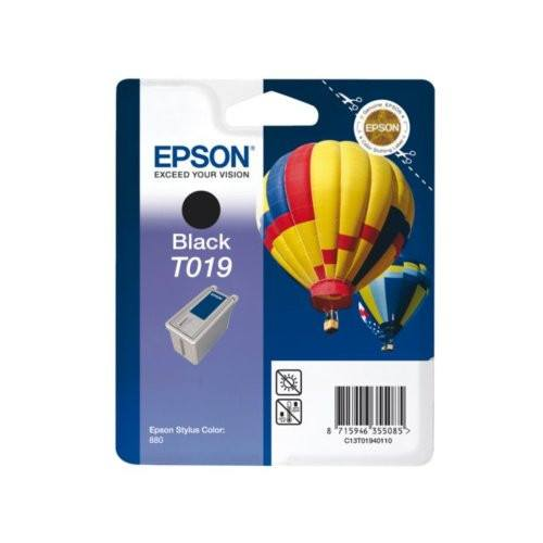 Epson T019 (T019401) Black Cartridge - Gadgitechstore.com