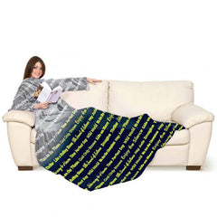 Lavatelli Kanguru Blanket with Sleeves - Song Glow in the Dark