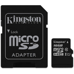 Kingston MicroSD™ w/ 1 Adapter CLASS 10 G2 - Gadgitechstore.com