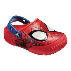 Crocs Boys' Lifestyle Spiderman Light Clog Slippers