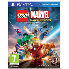 Lego Marvel Super Heroes: Universe in Peril (PS Vita Game)