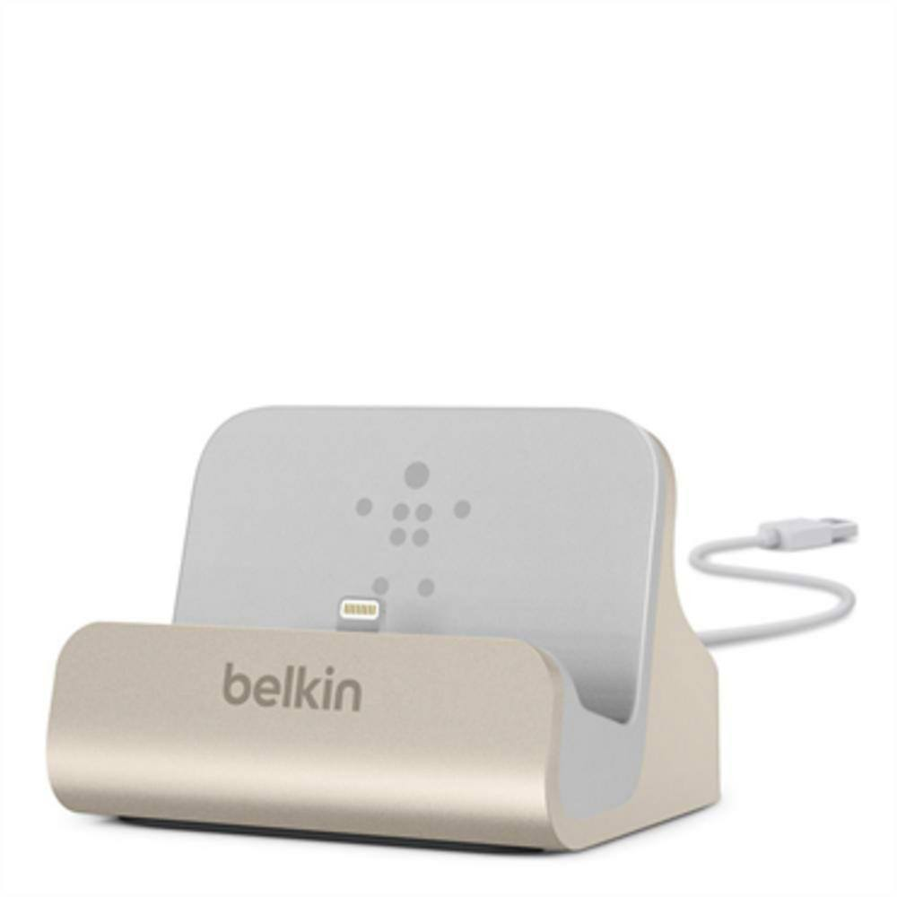 Belkin DESKTOP CHARGE/SYNC DOCK WITH Lightning Cable - Gadgitechstore.com