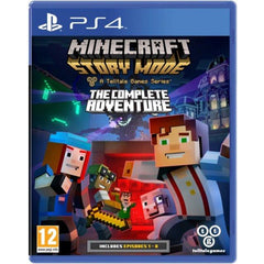 Minecraft Story Mode: The Complete Adventure (PS4 Game) - Gadgitechstore.com