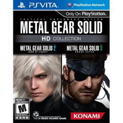 Metal Gear Solid: HD Collection (PS Vita Game) - Gadgitechstore.com