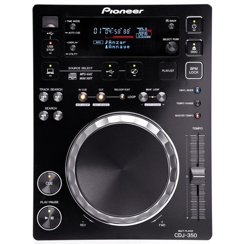 Pioneer CDJ-350 CD Player - Gadgitechstore.com
