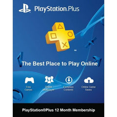 Sony PS4 Playstation Plus Cards - Gadgitechstore.com