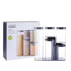 Joseph Joseph Podium Storage Jar Set (Pack of 5)