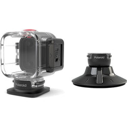 Polaroid Cube Accessory Water Proof + Suction Mount - Gadgitechstore.com