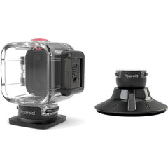 Polaroid Cube Accessory Water Proof + Suction Mount - GadgitechStore.com Lebanon - 1