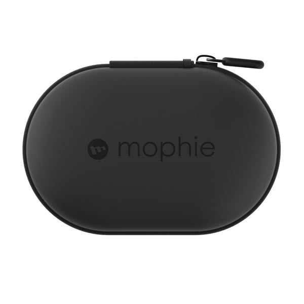Mophie Power Capsule 1,400 mAh Portable Power & Charger for Wireless Earphones - Black