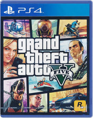 GTA V (PS4 Game) - GadgitechStore.com Lebanon