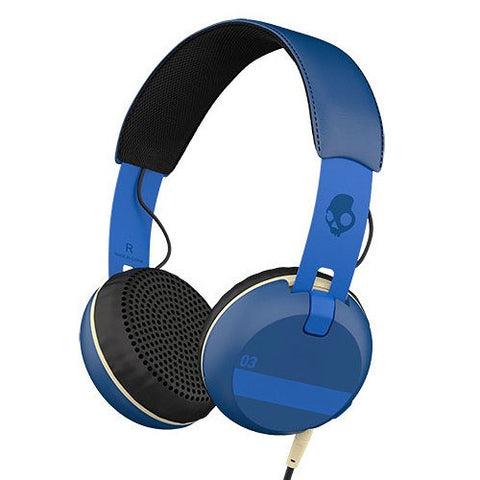 Skullcandy Grind On-Ear Headphones with Built-In Mic and Remote - Gadgitechstore.com