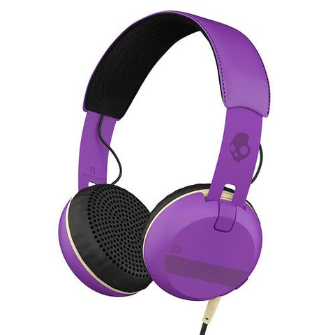 Skullcandy Grind On-Ear Headphones with Built-In Mic and Remote - GadgitechStore.com Lebanon - 4
