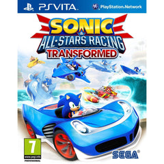 Sonic All Stars Racing Transformed (PS Vita Game)