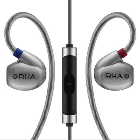 RHA T10i: High fidelity, noise isolating in-ear headphone with remote and microphone - GadgitechStore.com Lebanon - 1