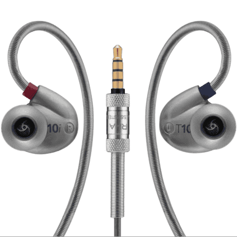 RHA T10i: High fidelity, noise isolating in-ear headphone with remote and microphone - GadgitechStore.com Lebanon - 3