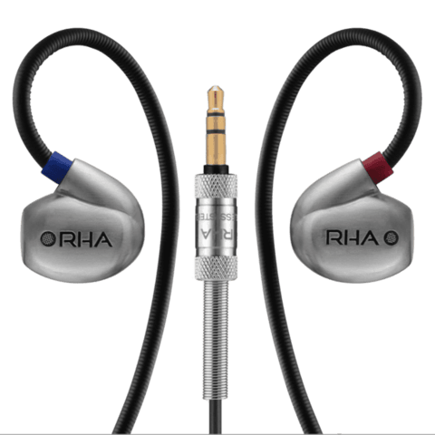 RHA T20i High fidelity, noise isolating, DualCoil™ in-ear headphone - GadgitechStore.com Lebanon - 1