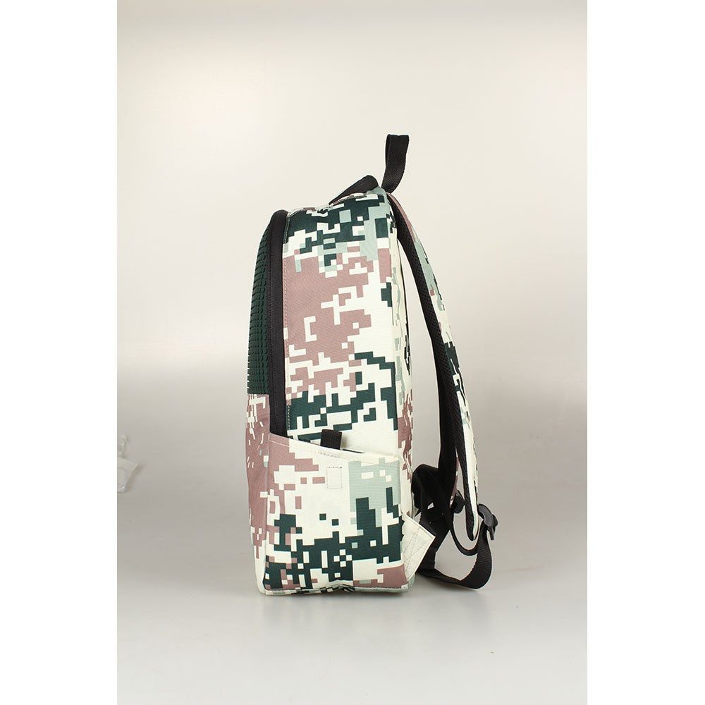Upixel Camo Childrens Backpack Camouflage Pink