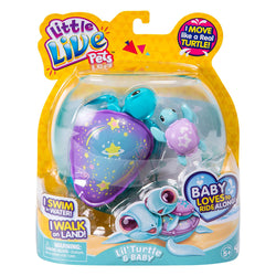 Little Live Pets S4 Lil Turtle Single Pack - Assorted