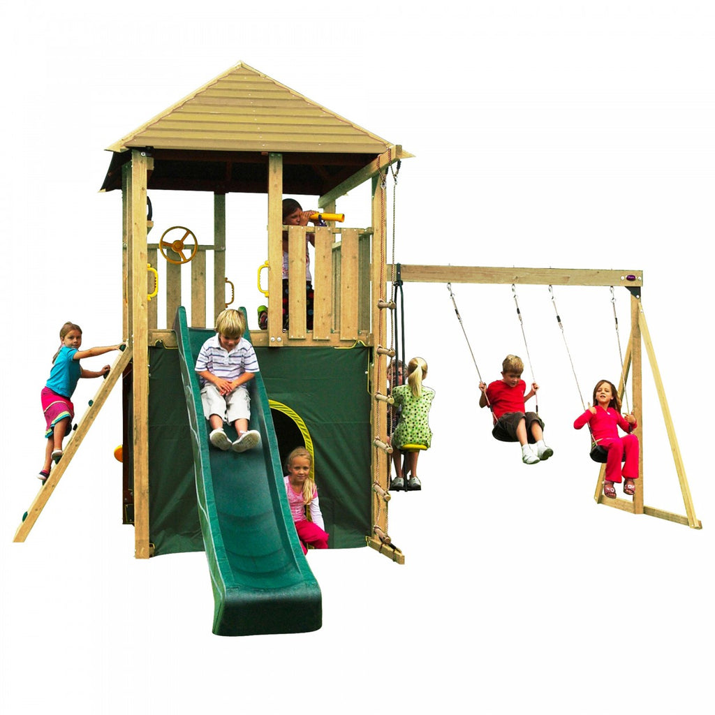 Plum Warthog Wooden Frame Outdoor Play Centre