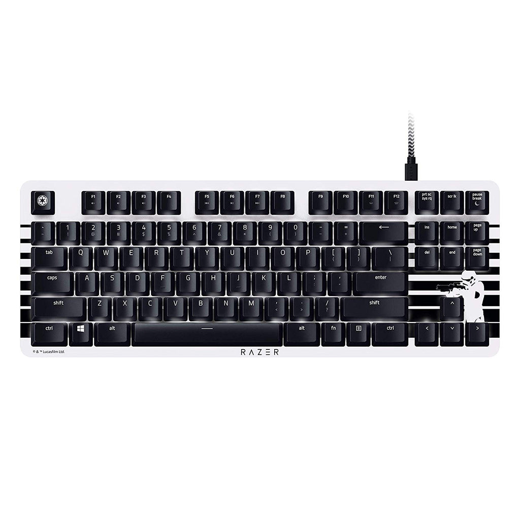 Razer Blackwidow Lite Stormtrooper Edition – Mechanical Gaming Keyboard