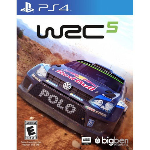 World Rally Championship 5 SPECIAL EDITION (PS4 Game) - Gadgitechstore.com