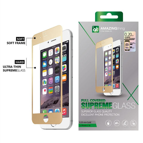 AMAZINGthing iPhone 6/6S 0.20mm Fully Covered TEMPERED GLASS - GadgitechStore.com Lebanon - 5