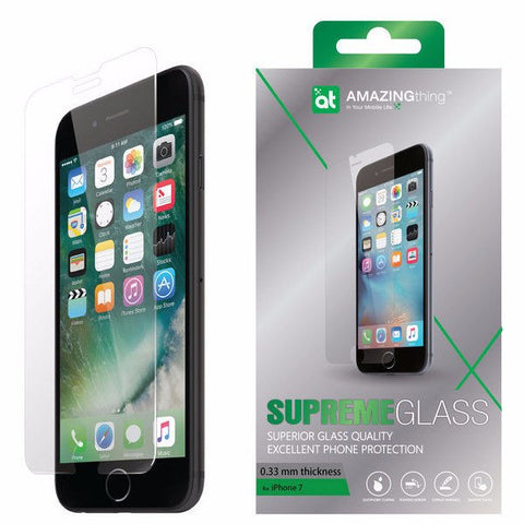 AMAZINGthing iPhone 7 0.33mm Supreme Glass (Crystal) - Gadgitechstore.com