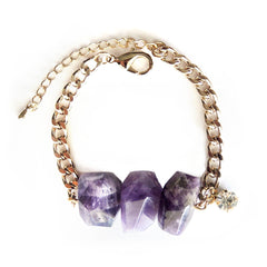 Chainless Brain's Amethyst Bracelet