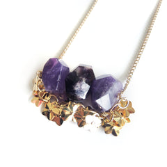 Chainless Brain's Amethyst Necklace