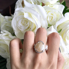 Fresh Water Pearl Ring from Chainless Brain